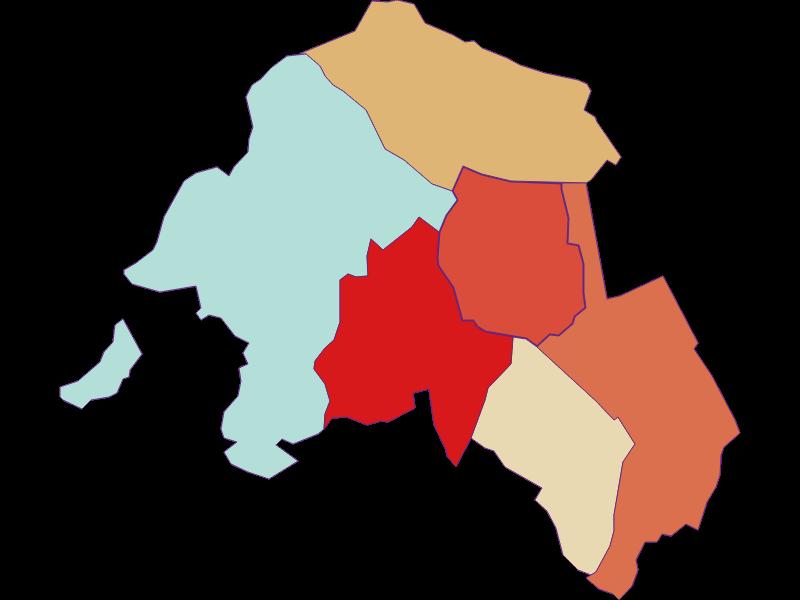 Population development since 1869 in Krensdorf