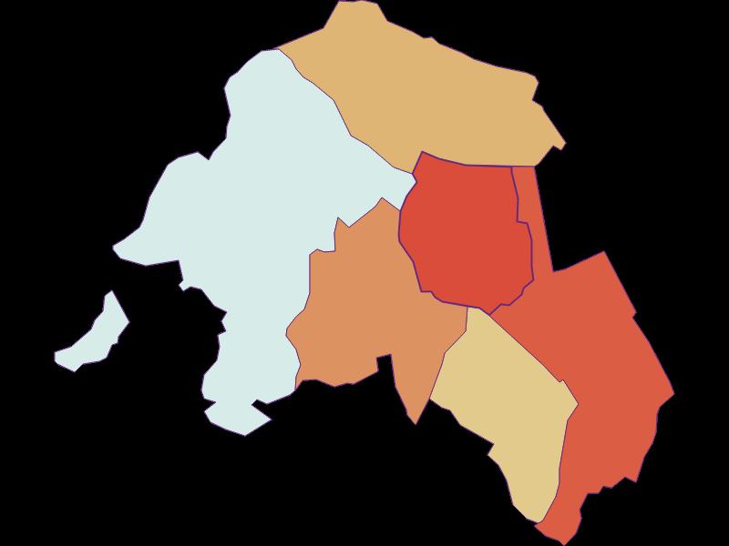 Population development since 1900 in Krensdorf