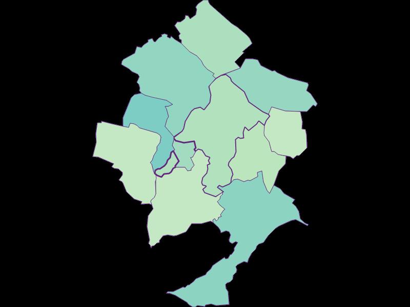 Доля иностранцев в Pöttsching