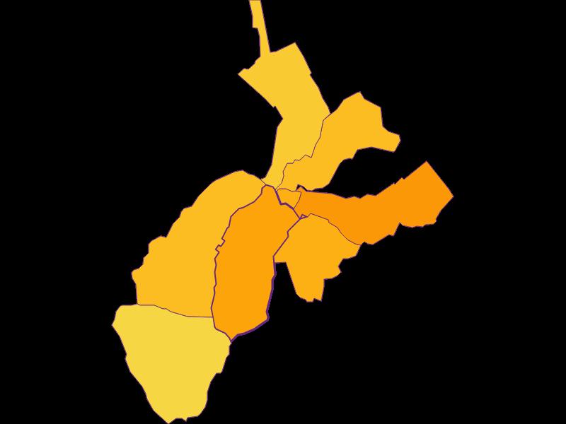 Плотность населения в Rohrbach bei Mattersburg
