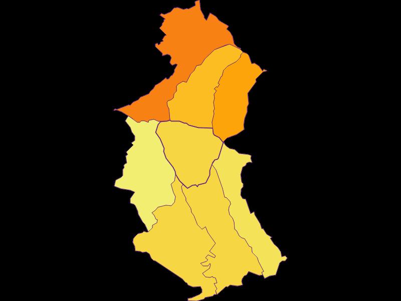 Плотность населения в Sieggraben
