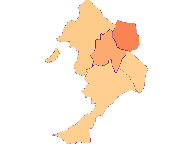 Размер домохозяйства в Sigleß