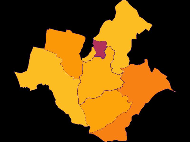 Плотность населения в Wiesen