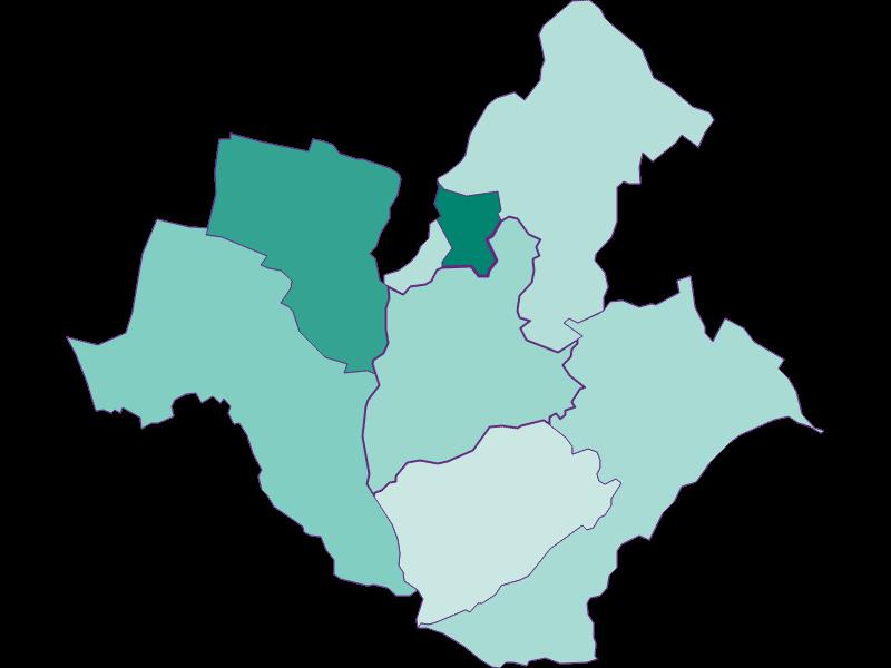 Population development since 1869 in Wiesen
