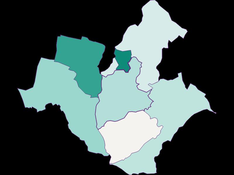Population development since 1900 in Wiesen