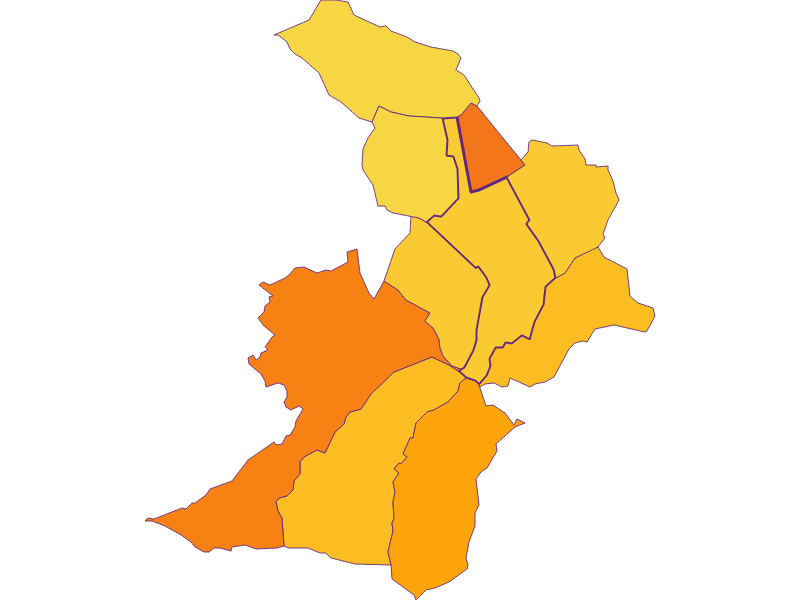 Population density in Zemendorf-Stöttera