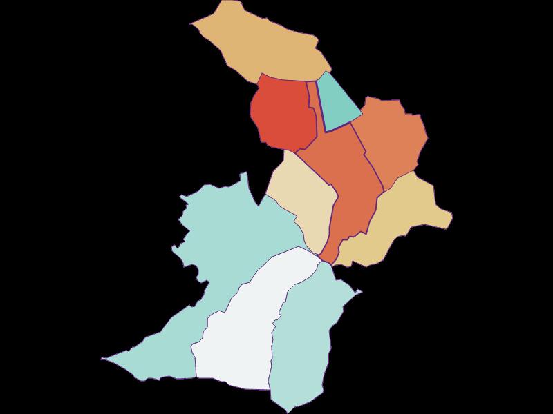 Population development since 1869 in Zemendorf-Stöttera