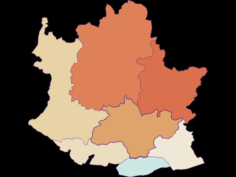 Population development since 1900 in Artstetten-Pöbring
