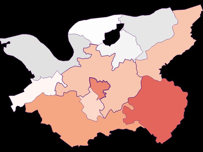 Занятость в Bergland