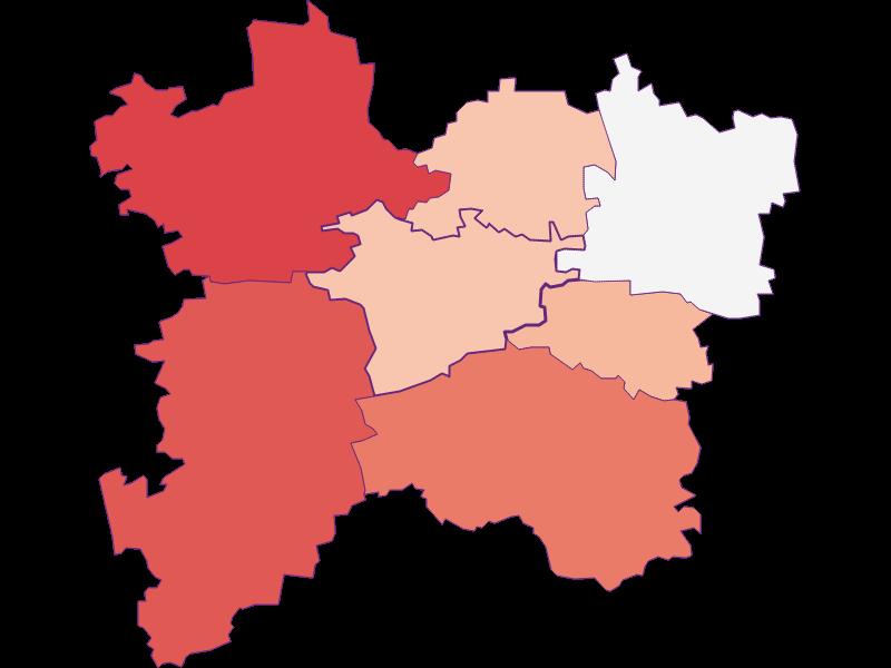 Activity rate in Bischofstetten
