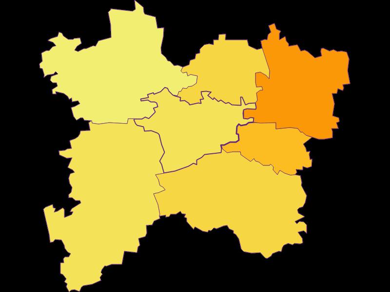 Population density in Bischofstetten
