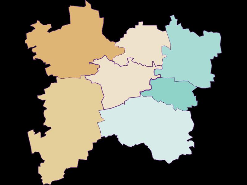 Population development since 1869 in Bischofstetten