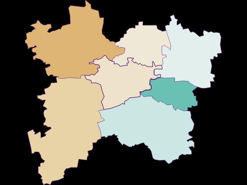 Population development since 1900 in Bischofstetten