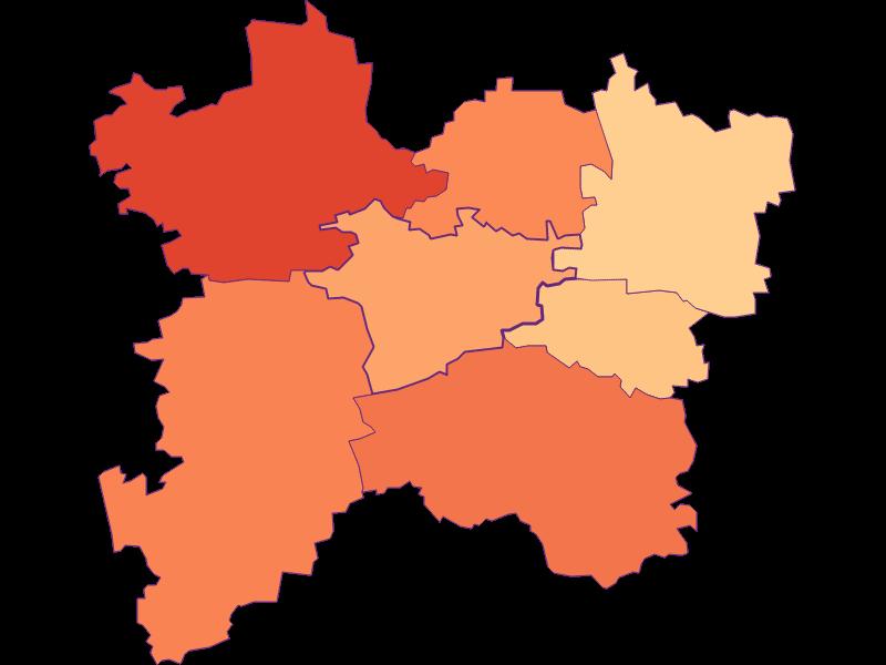 Household size in Bischofstetten