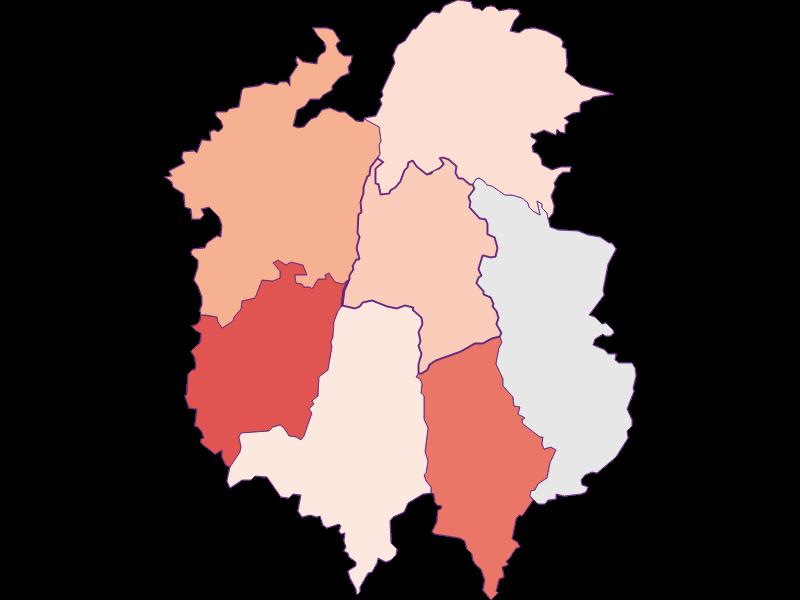 Farmers (comparison to federal state) in Dorfstetten