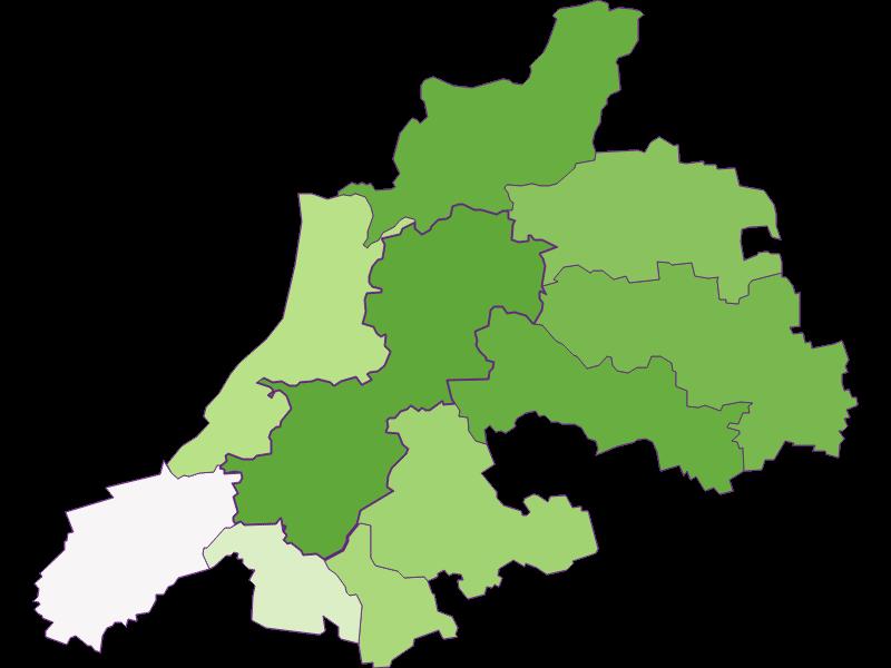 Заселенность в Dunkelsteinerwald