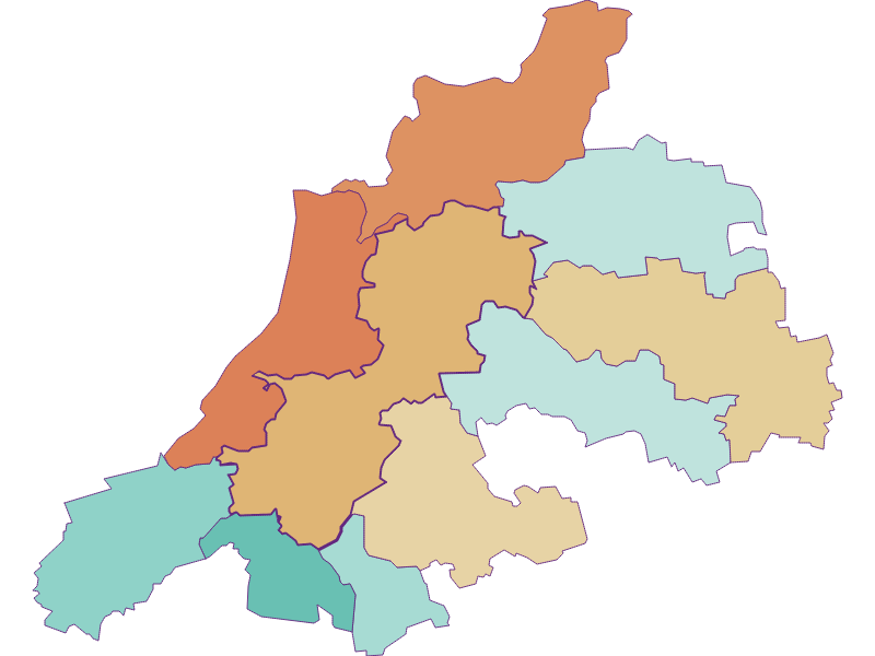 Демография с 1869 года в Dunkelsteinerwald