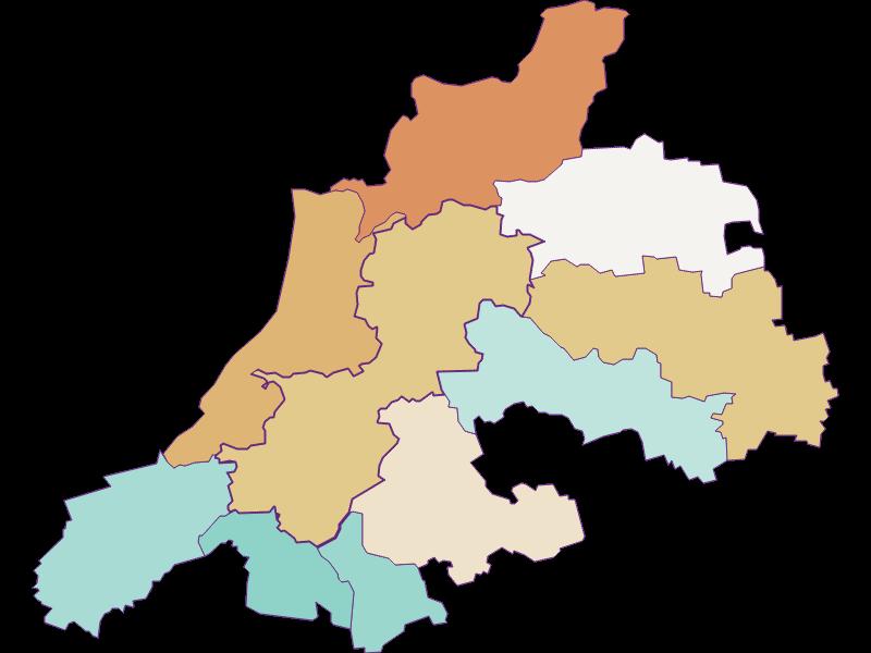 Демография с 1900 года в Dunkelsteinerwald