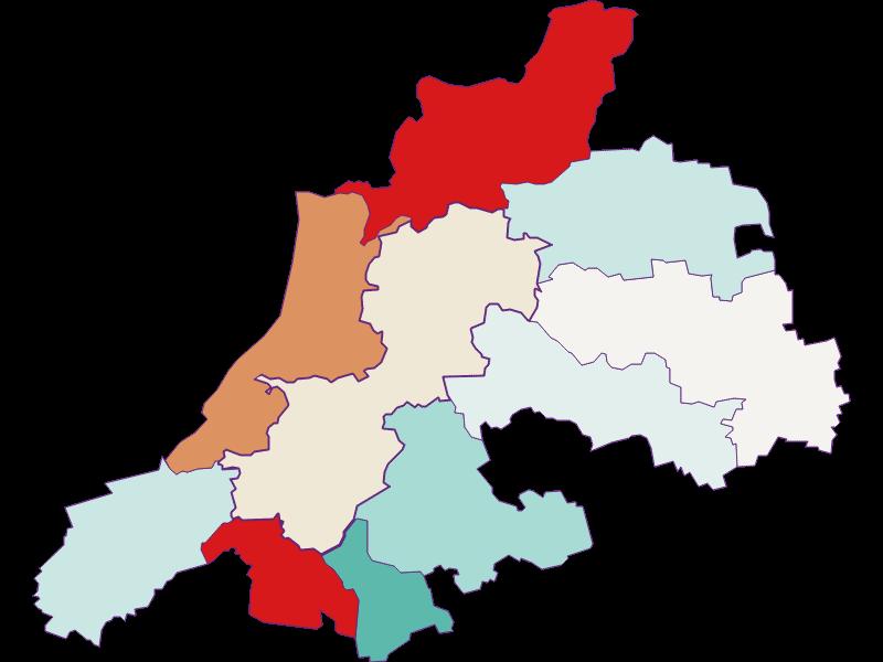 Демография с 2011 года в Dunkelsteinerwald