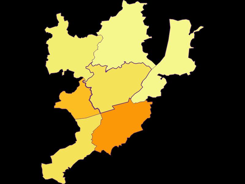 Population density in Emmersdorf an der Donau