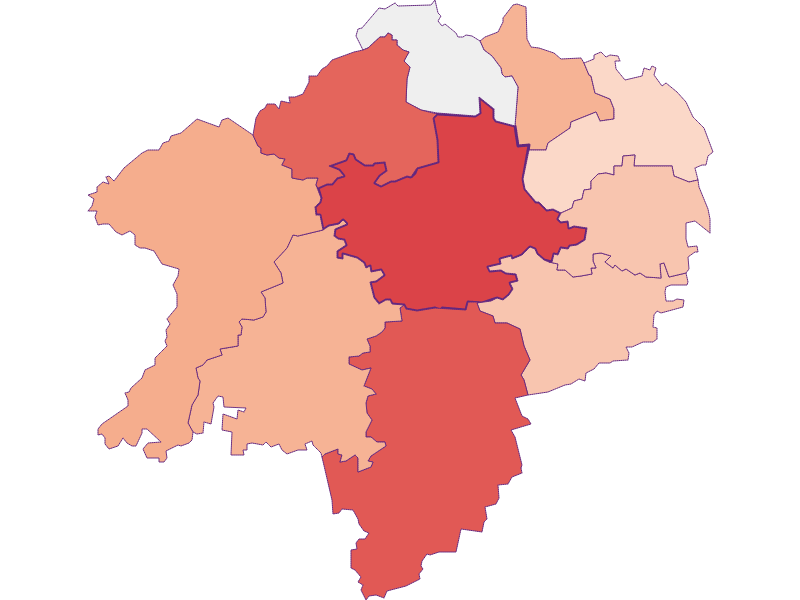 Bevölkerungsaktivität in Hürm