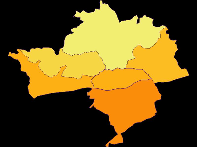 Плотность населения в Klein-Pöchlarn