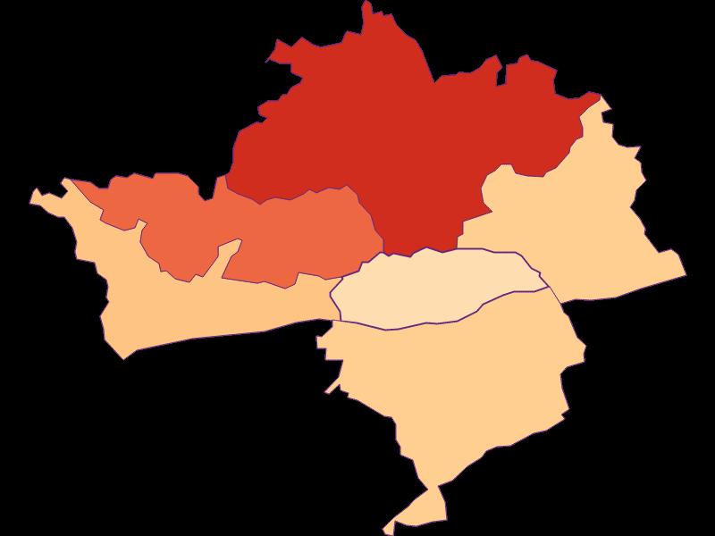 Размер домохозяйства в Klein-Pöchlarn