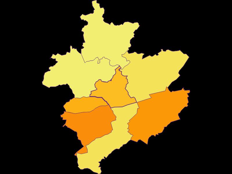 Population density in Leiben