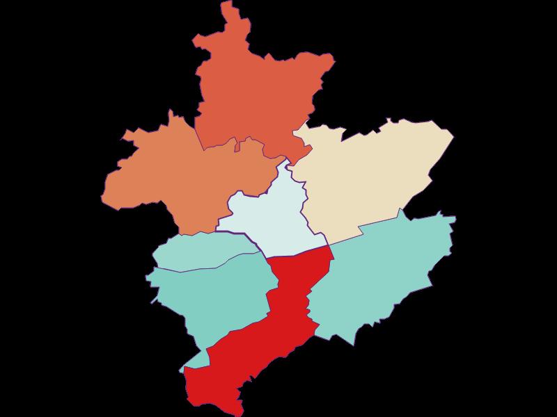 Population development since 1869 in Leiben