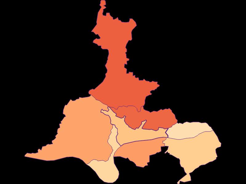 Размер домохозяйства в Marbach an der Donau