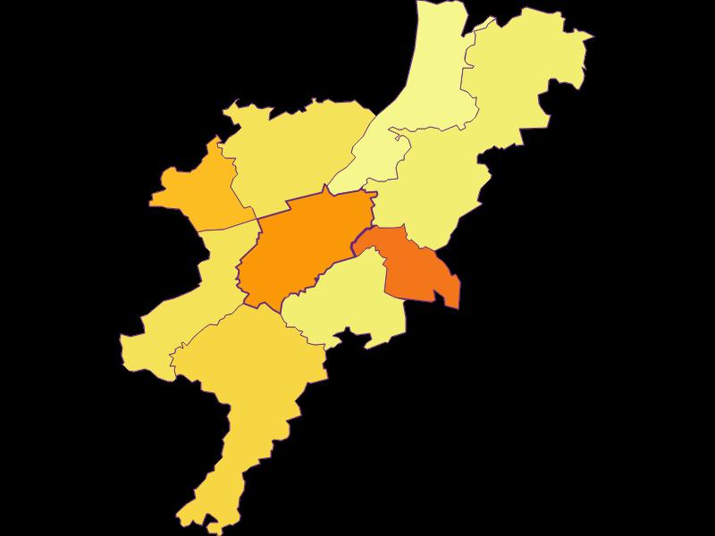Плотность населения в Melk