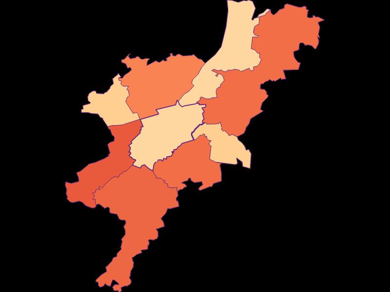 Размер домохозяйства в Melk