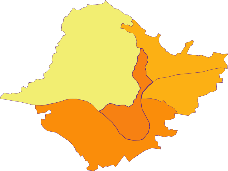Population density in Persenbeug-Gottsdorf