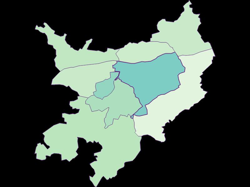Доля иностранцев в Pöchlarn