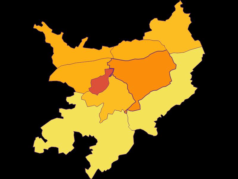 Плотность населения в Pöchlarn
