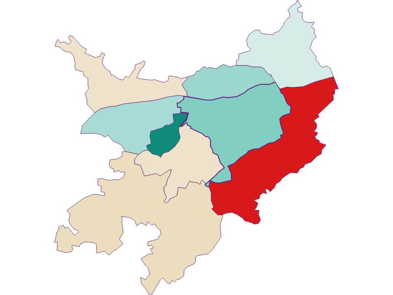 Population development since 1869 in Pöchlarn