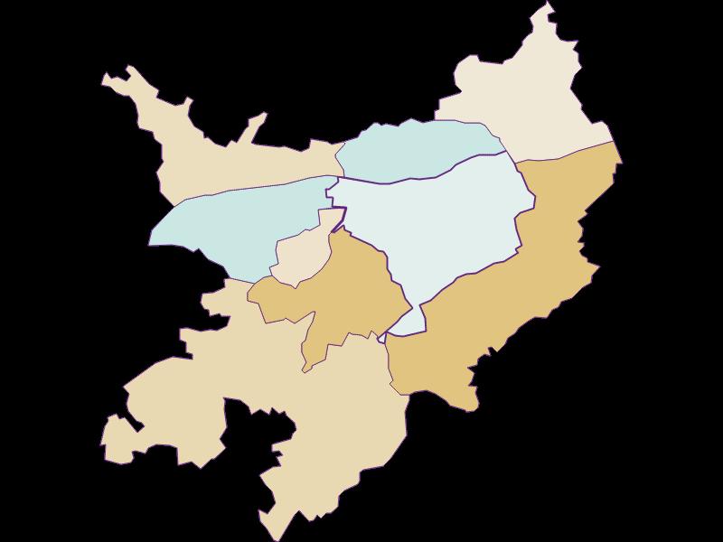 Population development since 1900 in Pöchlarn