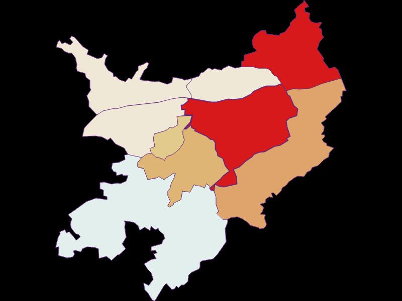 Population development since 2011 in Pöchlarn