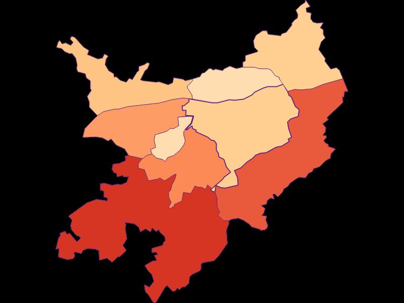 Размер домохозяйства в Pöchlarn