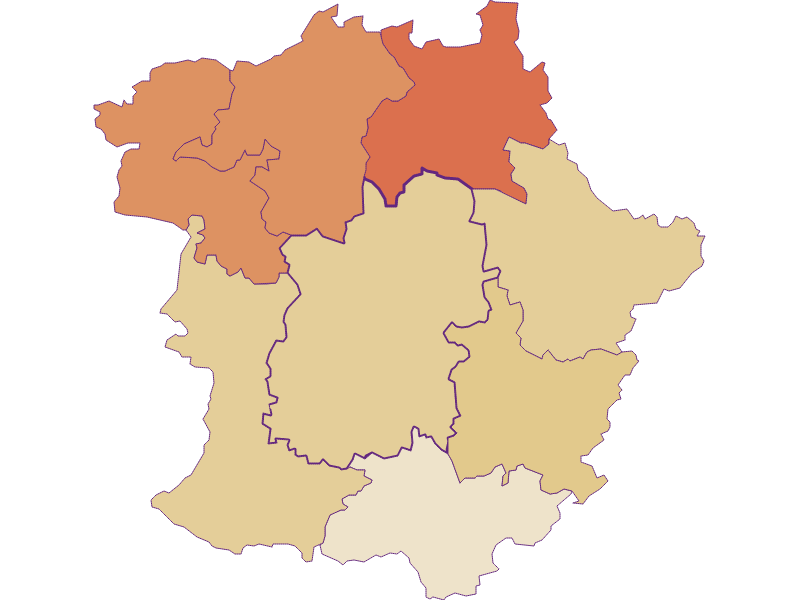 Population development since 2011 in Pöggstall
