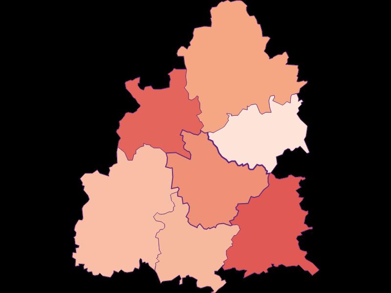Activity rate in Raxendorf