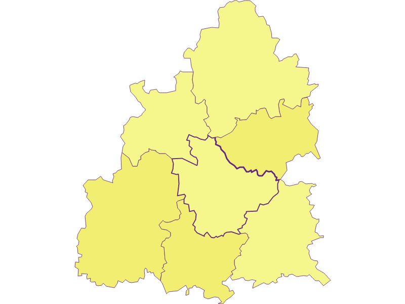 Population density in Raxendorf