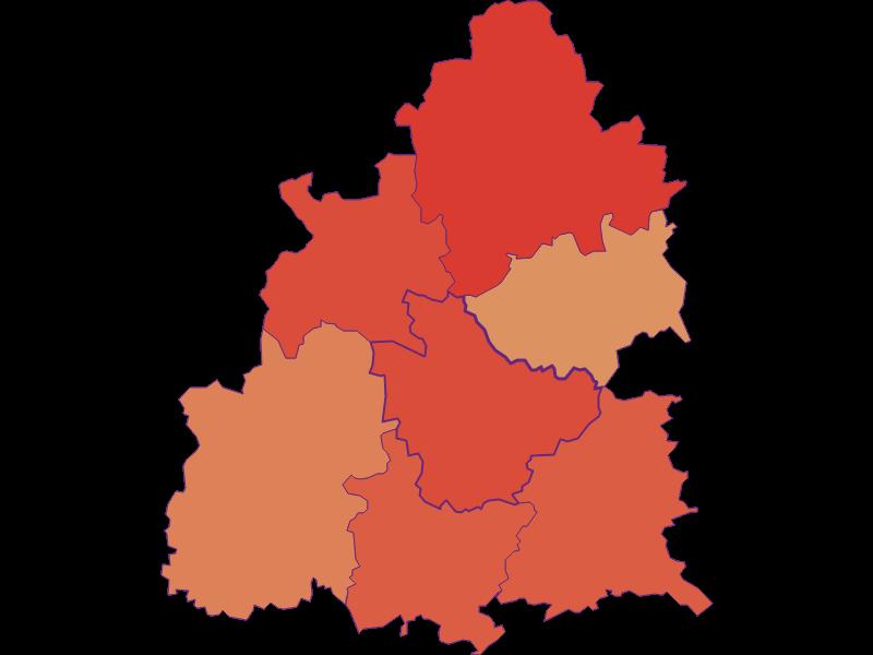 Population development since 1869 in Raxendorf