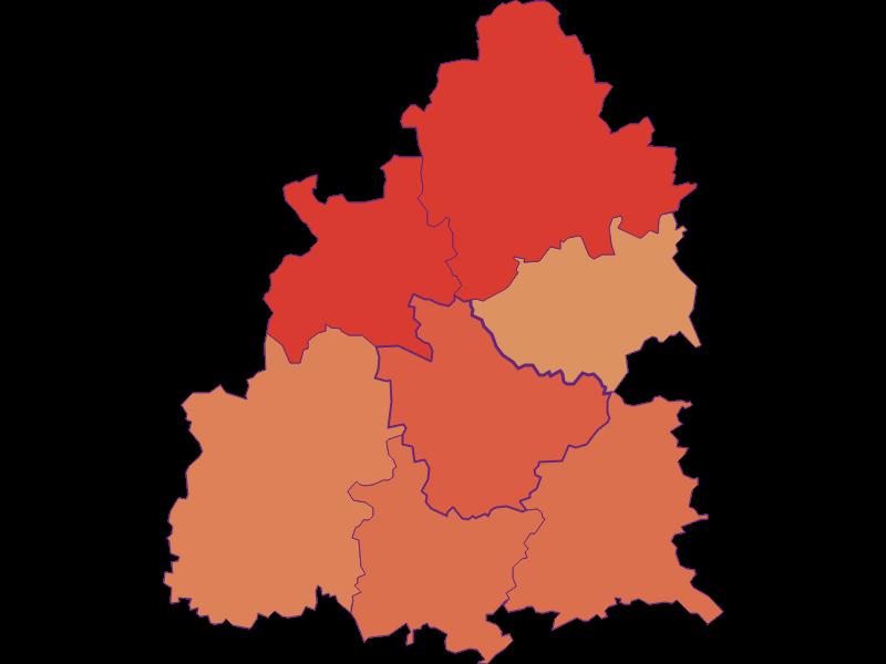 Population development since 1900 in Raxendorf