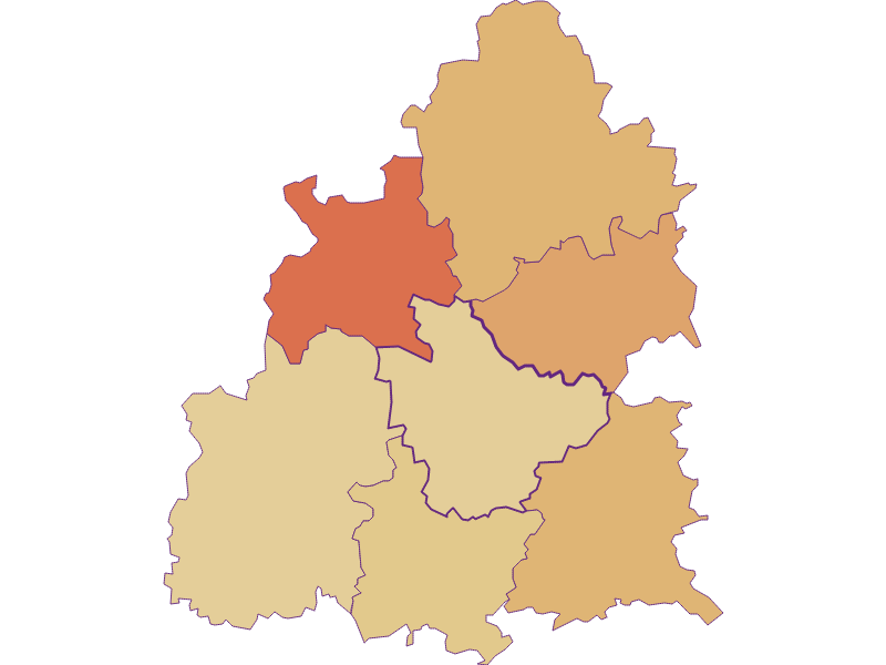 Population development since 2011 in Raxendorf