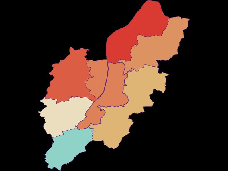 Population development since 1869 in Schönbühel-Aggsbach