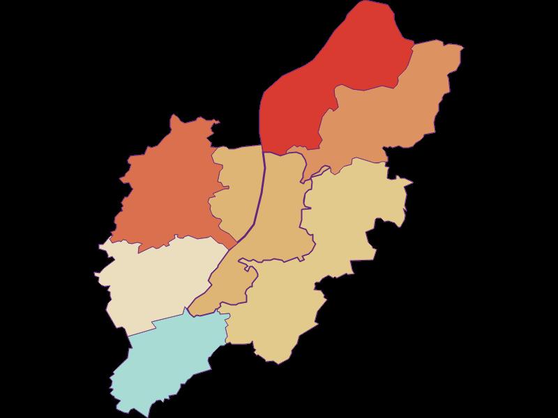 Population development since 1900 in Schönbühel-Aggsbach