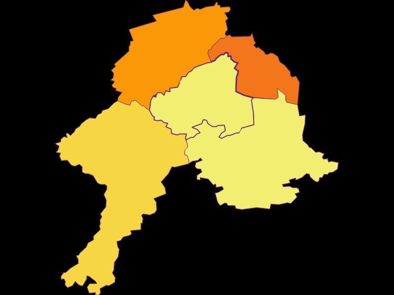 Плотность населения в Schollach