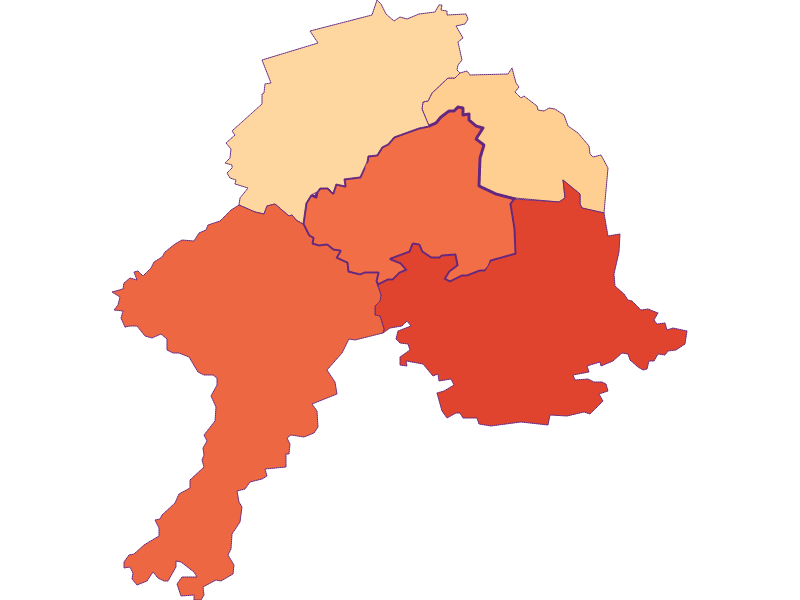 Размер домохозяйства в Schollach