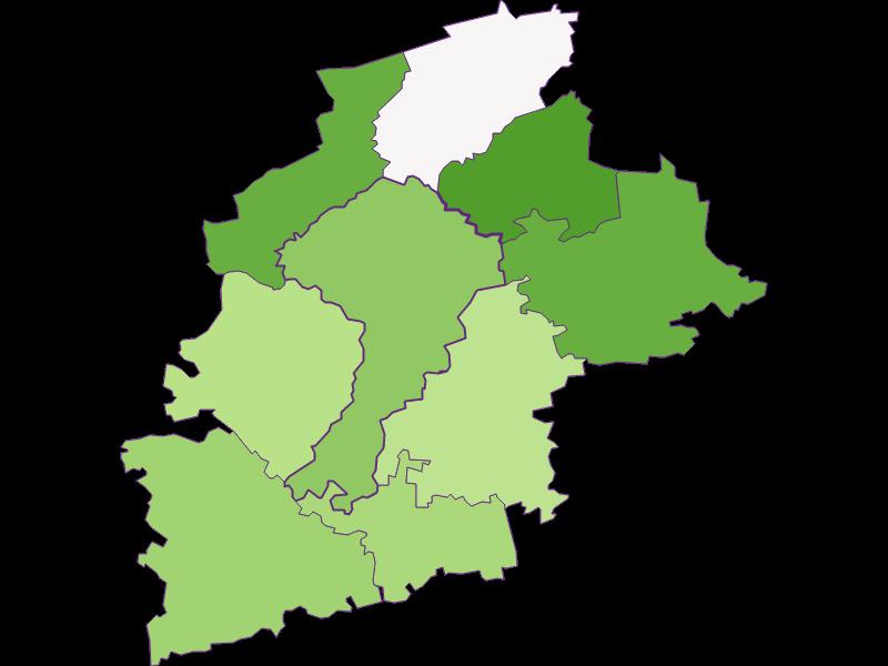 Заселенность в St. Leonhard am Forst